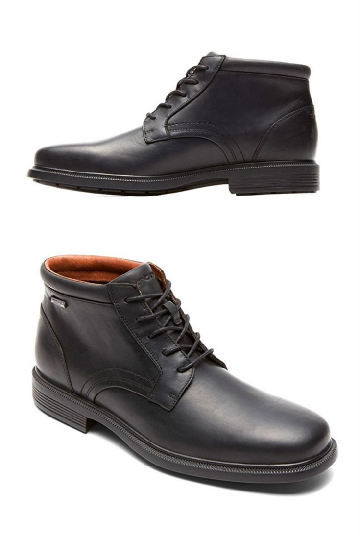 It's really tough to find a men's boot that you can both commute in and not  feel compelled to change out of once you're indoors. Rockport nails the  comfort ...