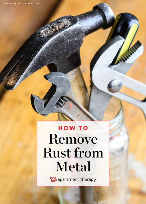 best 25 remove rust from metal ideas on pinterest removing rust clean rust and remove rust. Black Bedroom Furniture Sets. Home Design Ideas