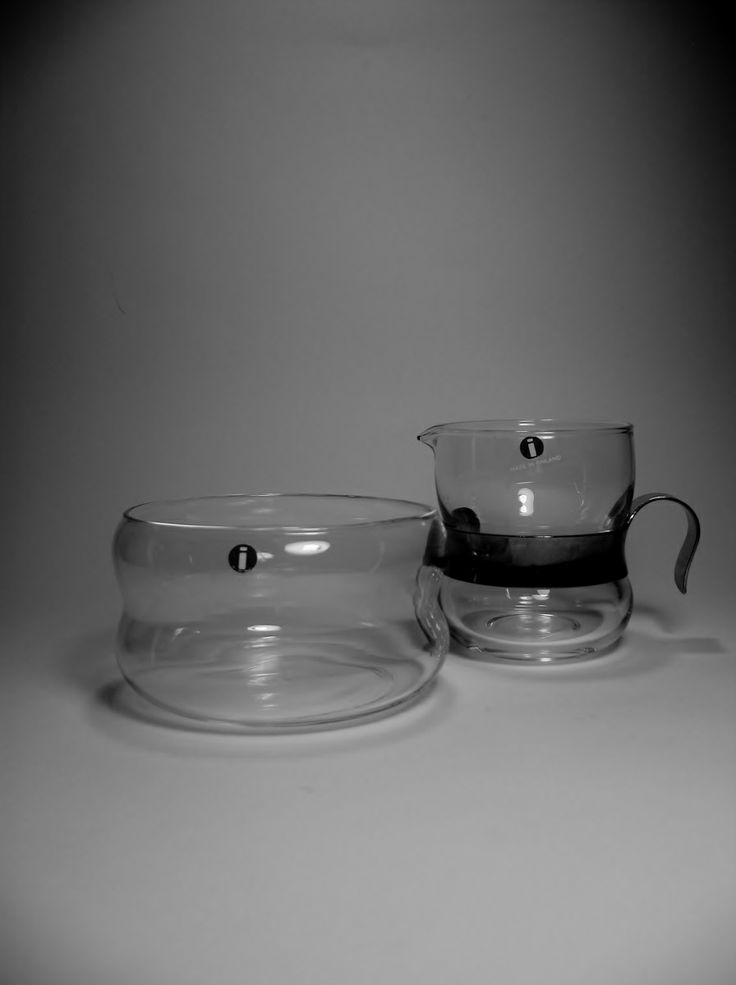 IITTALA - FINLAND  MAKER:IITTALA  ORIGIN OF COUNTRY:FINLAND  TYPE:CREAMER PITCHER AND SUGAR BOWL  PERIOD:1970'S  SERIES:PAULA  DESIGNER:JORMA VENNOLA   These were found a while ago at GW !!