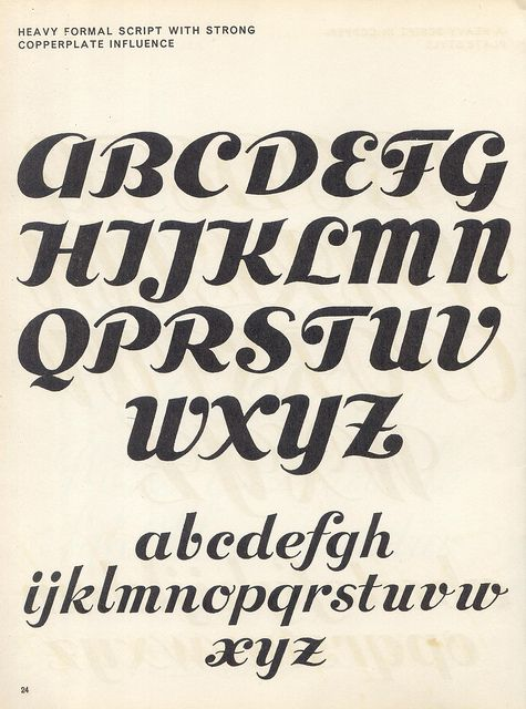 Many different fonts,   sciptlettering p18 by pilllpat (agence eureka), via Flickr