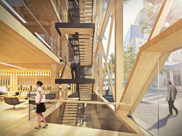 Fitzpatrick + Partners designing what could be Australia's tallest timber commercial building | Architecture And Design