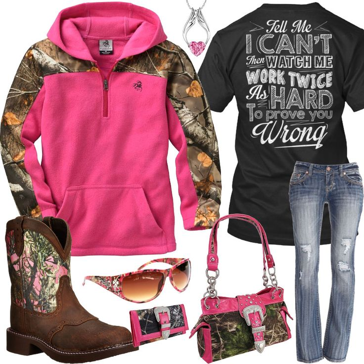 Prove You Wrong Pink Camo Sunglasses Outfit - Real Country Ladies