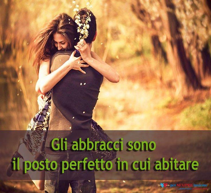 E' durante un momento di attrito che riscopri la meraviglia di un abbraccio, e molto spesso ti perdi questa possibilità!