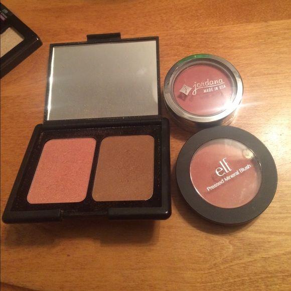 Blushes 2 elf blushes and one Jordana ELF Makeup Blush