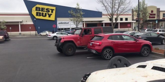 Attention internet: This Jeep bad parking revenge video is FAKE