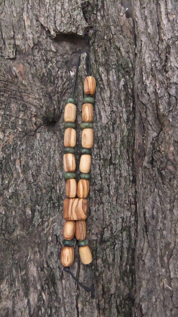 Olive Wood Worry Beads or Komboloi with Olive by ellenisworkshop