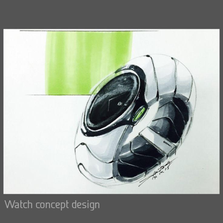 Watch concept design