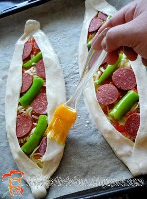 SUCUKLU PİDE (Turkish sausage Pita bread) | My Home Diary in Turkey