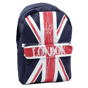 Ghiozdan de liceu ieftin cu steagul Marii Britanii