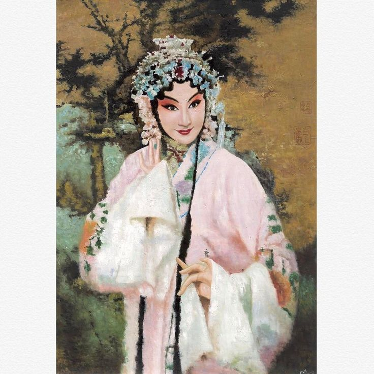 Beijing Opera painting featuring Bai Suzhen from the tale of Madam White Snake 京剧人物系列作品 白素贞85x65 cm (2017) #miqiaoming #artcollection #beijingopera #artgallery #artcurators #investinart #madamwhitesnake #pekingopera #chineseart #chineseartist #白蛇传 #白素贞 #京剧 #当代艺术 #中国画家 #中国油画 #艺术品拍卖 #米巧铭