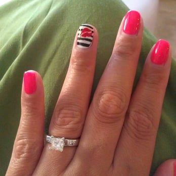 Another custom desgin by the talented My! Gel overlay - Yelp