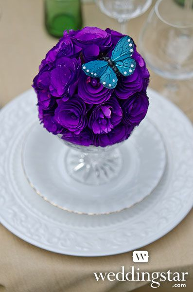 Make a simple yet stunning tablescape with our Beautiful Butterflies Decor Sets and Wood Curl Pomander Balls!