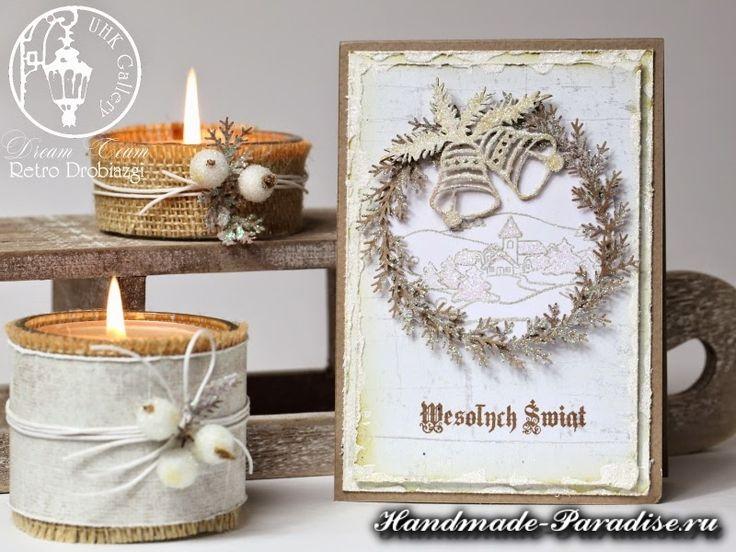 Рождественские открытки ручной работы (11)