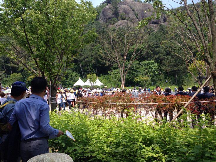 노무현 대통령 서거 7주기 추모식 직전 #봉하마을 #그립다