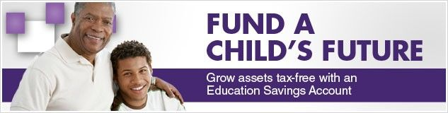 grow assets tax-free with an education savings account