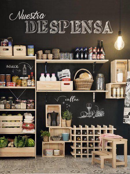 Despensas ordenadas con mucho estilo organization Pinterest - Ideas Con Mucho Estilo