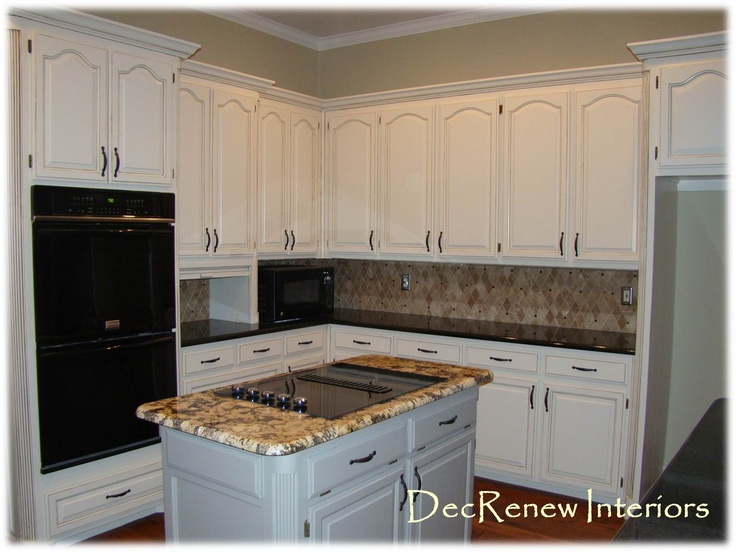 remodeled kitchens with painted cabinets white painted cathedral door cabinets summer project 7713