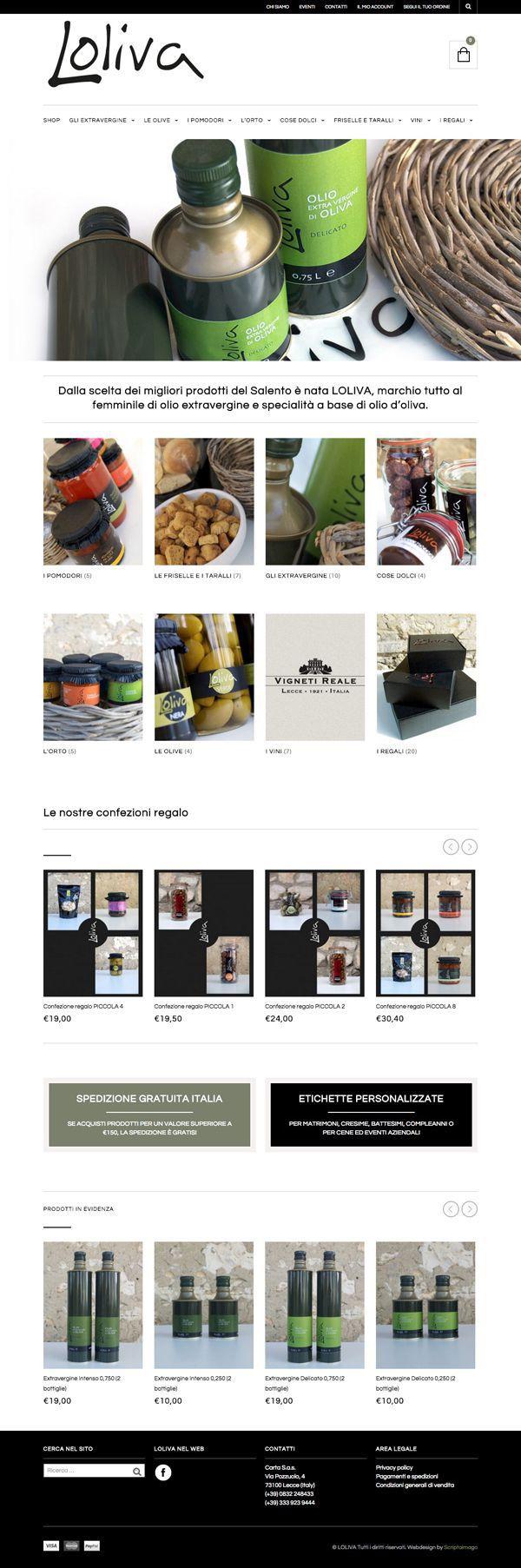 Loliva - e-commerce & responsive site on Behance #webdesign #webdevelopment #website loliva.it