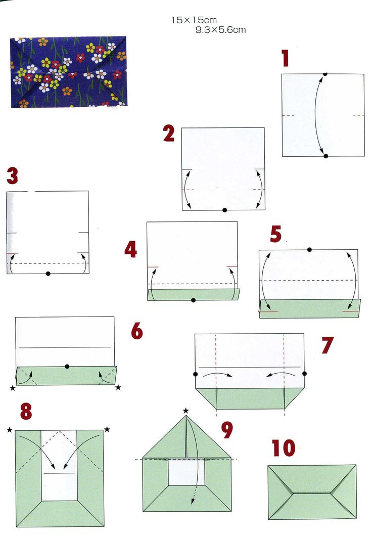 8 best origami images on pinterest envelopes origami envelope and origami - Faire une enveloppe avec une feuille a4 ...