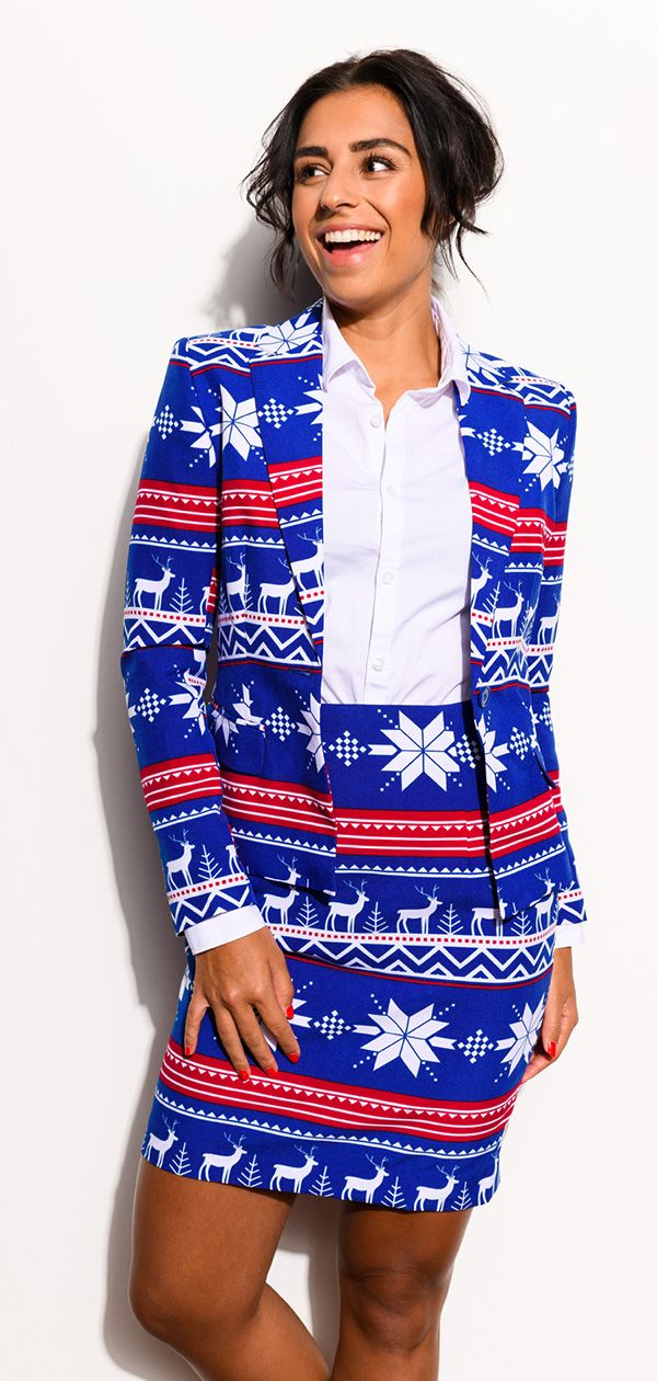 03fdeb5f3b3488 Christmas suit for women from OppoSuits. | Christmas Outfit Ideas ...