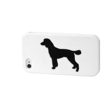 Steadfast Friends: Poodle iPhone Case White I, at 20% off!