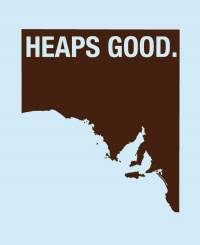 Heaps Good South Australia promotional branding campaign • Adelaide's icons