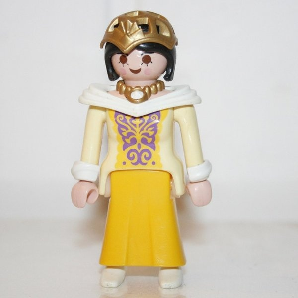 playmobil princesse jaune play original