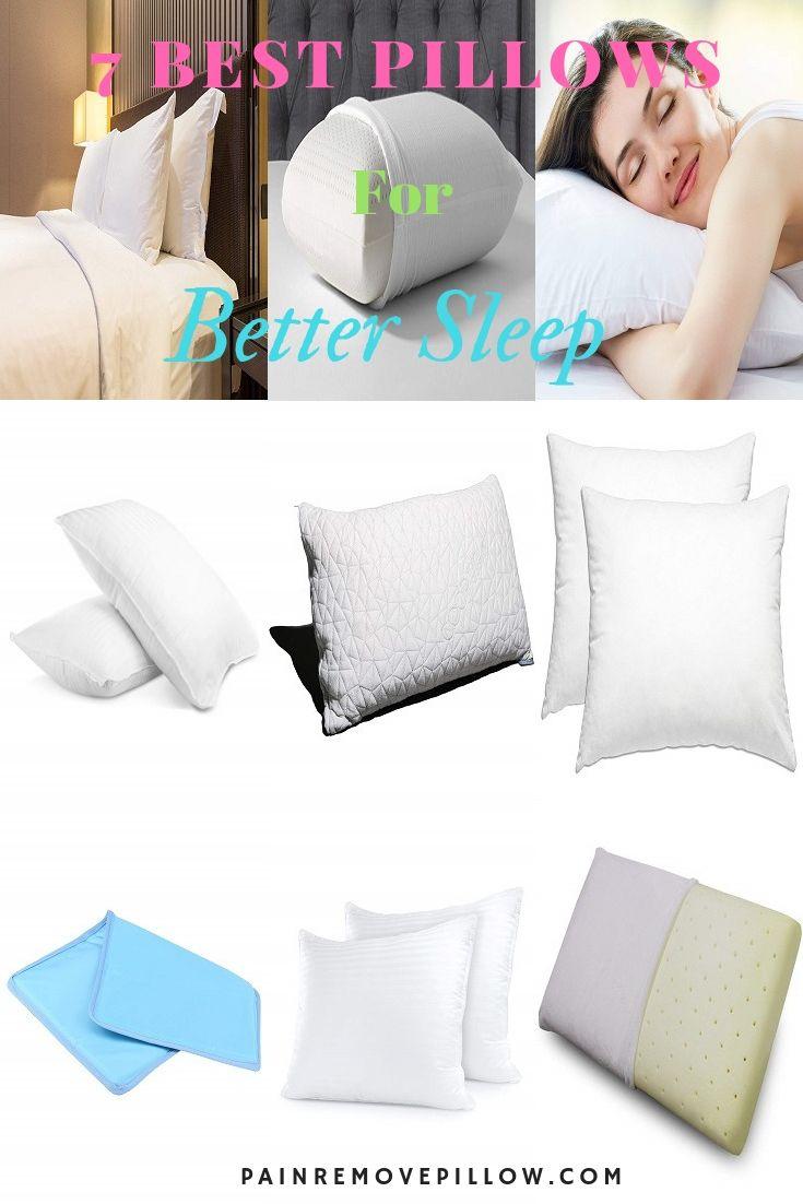 7 Best Pillows Best Pillow Pillows Bed Rest Pillow