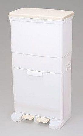 ゴミ箱 セパ ツインペダルペール 2段 56L ( ごみ箱 ダストBOX くずかご ダストボックス )【楽天市場】