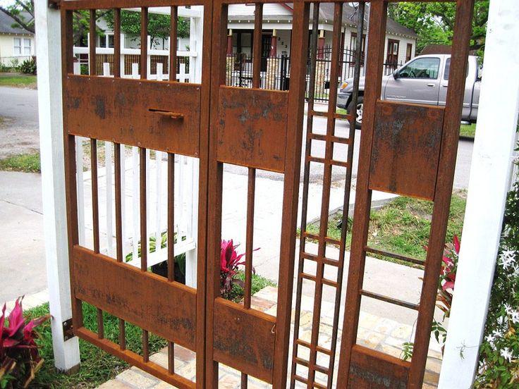 Wrought Iron Gate Craftsman American Google Search
