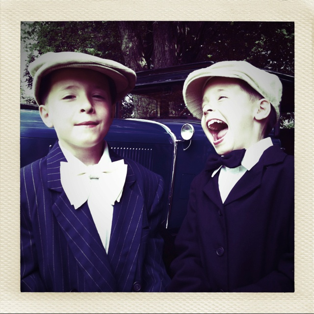 Vintage pic of my twins
