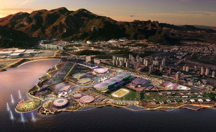 Rio de Janeiro 2016 olympic park