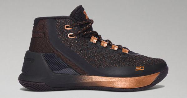 Boys' Grade School UA Curry 3 ASW Basketball Shoes