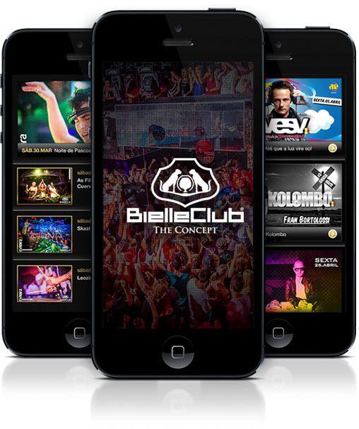 Bielle Club - App on Behance