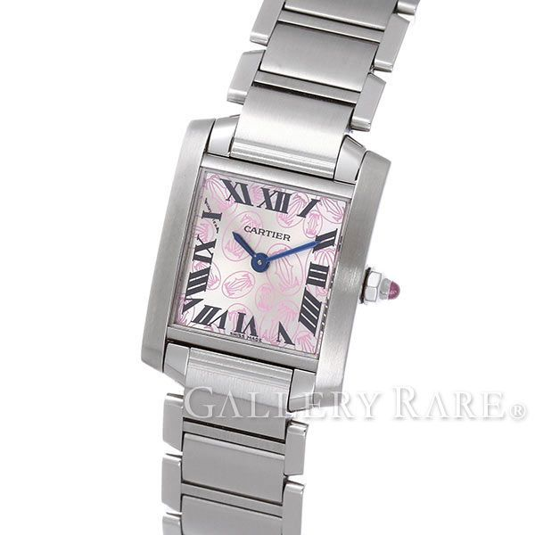 カルティエ タンクフランセーズSM ハッピーバースデー W51031Q3 Cartier 腕時計