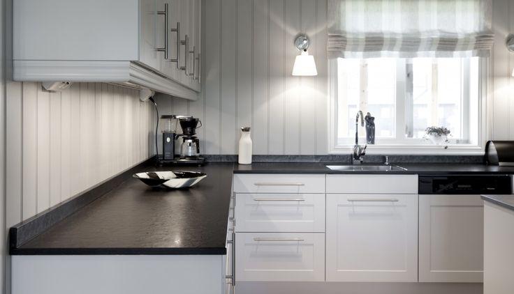Privat bolig i Oppdal, Norge - Ottaskifer fra Minera