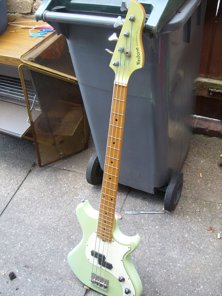 jap westone concorde II bass guitar