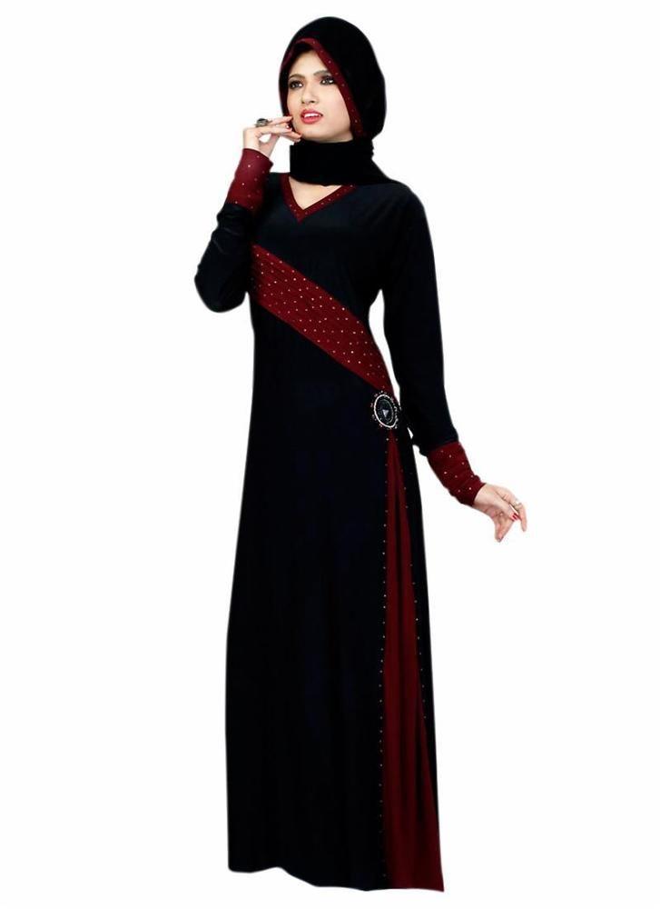 Long Bahiyyah Jilbab Dress Islamicwear Clothing Maxi Hijab Style Dubai Abayaa…