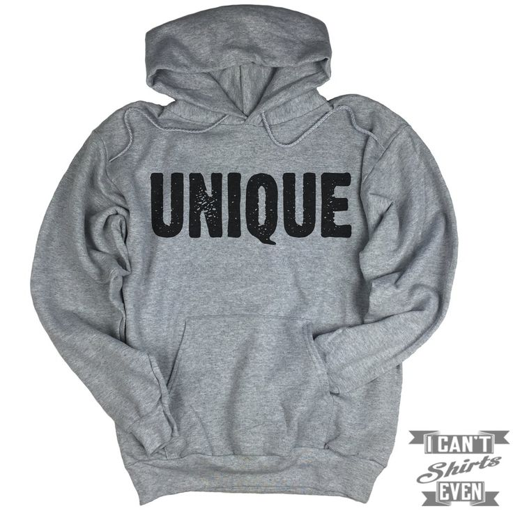 Unique Hoodie. Unisex Hooded Sweater.