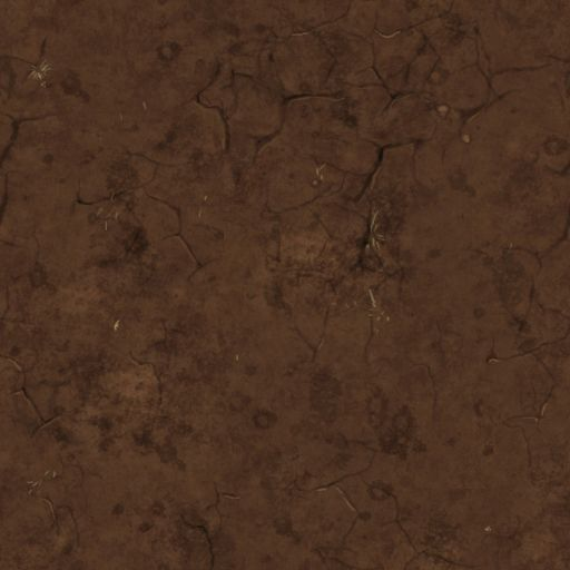 Dirt tile (less granular texture)