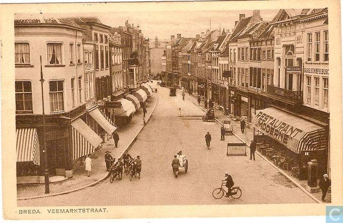 Breda - Veemarktstraat - 1929.