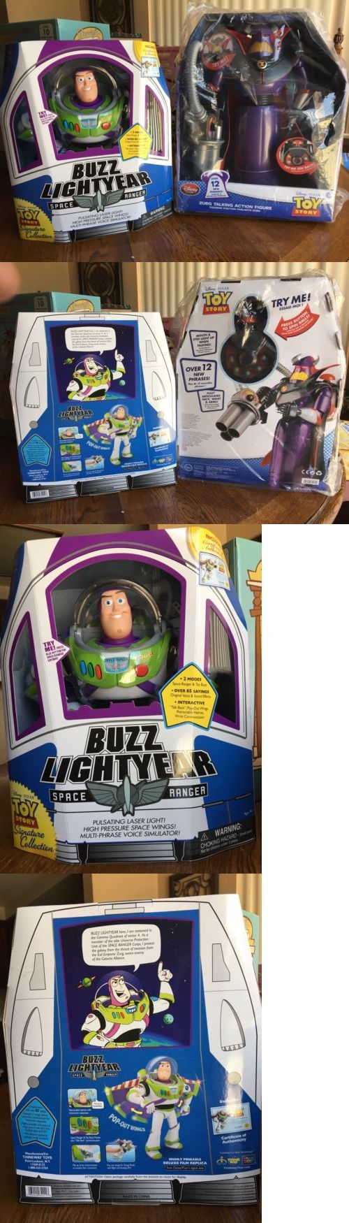 Toy Story 19223: New Talking Toy Story Signature Collection Buzz Lightyear And Disney Parks Zurg! -> BUY IT NOW ONLY: $120 on eBay!