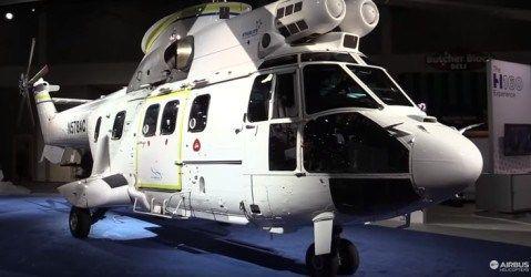 VIDEO: Noul elicopter Airbus fabricat la Ghimbav își face apariția în SUA