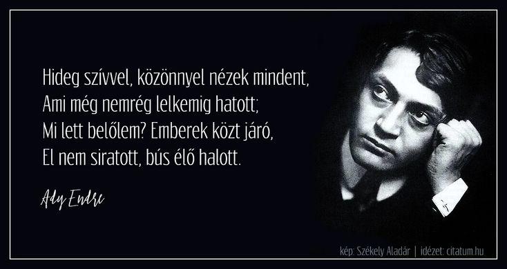Ady Endre #idézet