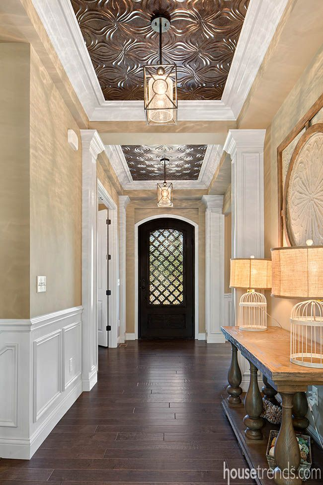 A Unique Front Door Serves As A Focal Point In The John Candle Estate By  John