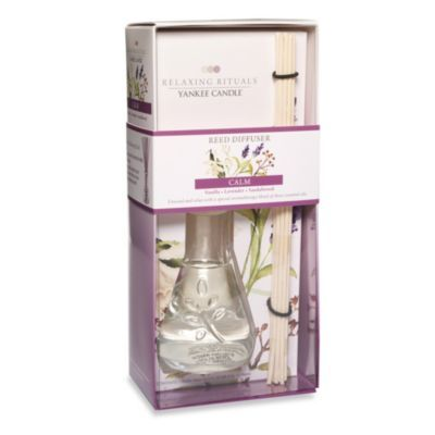 Yankee Candle® Relaxing Rituals™ Calm Reed Diffuser - BedBathandBeyond.com