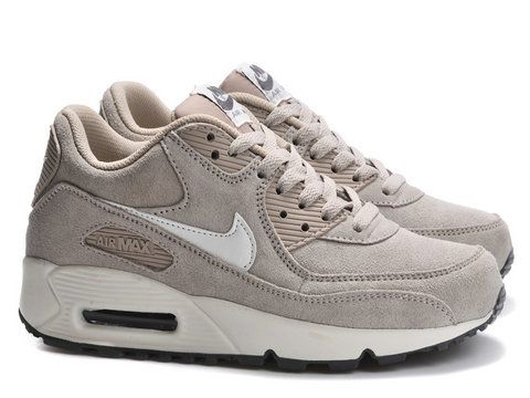 nike air max 90 essential classic stone dark grey