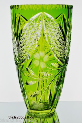 26 Best Bleikristall Images On Pinterest Cut Glass Clear Crystal And Glass Vase