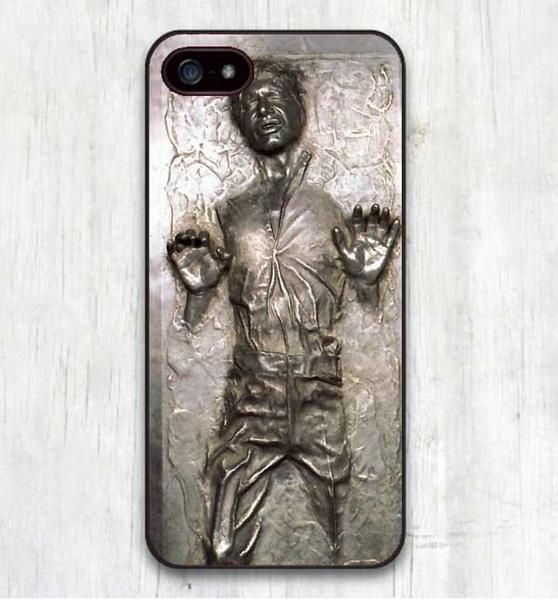 Han Solo Frozen Iphone Cover for iphone SE 4 4S 5 5S 5C 6 6S 6Plus 7 7 Plus