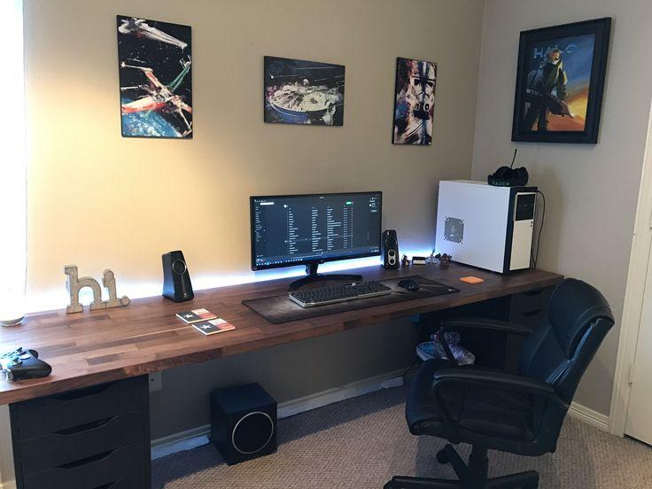 Best 25+ Gaming desk ideas on Pinterest | X1s gaming desk ...